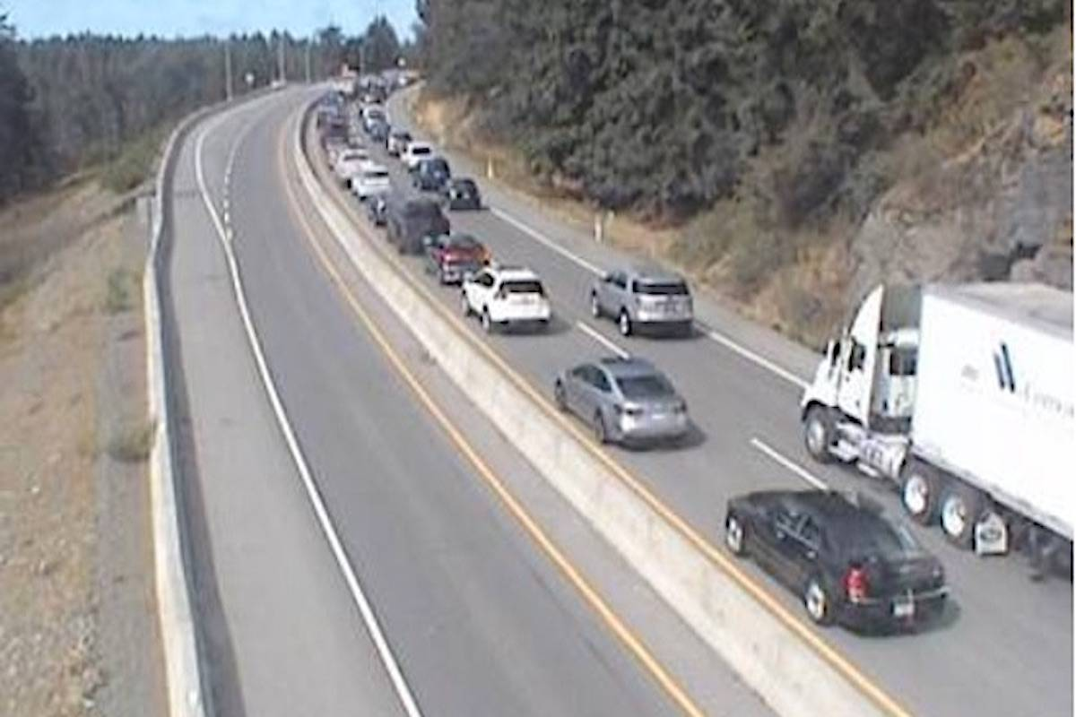 Southbound delays on Malahat into Victoria – Peninsula News