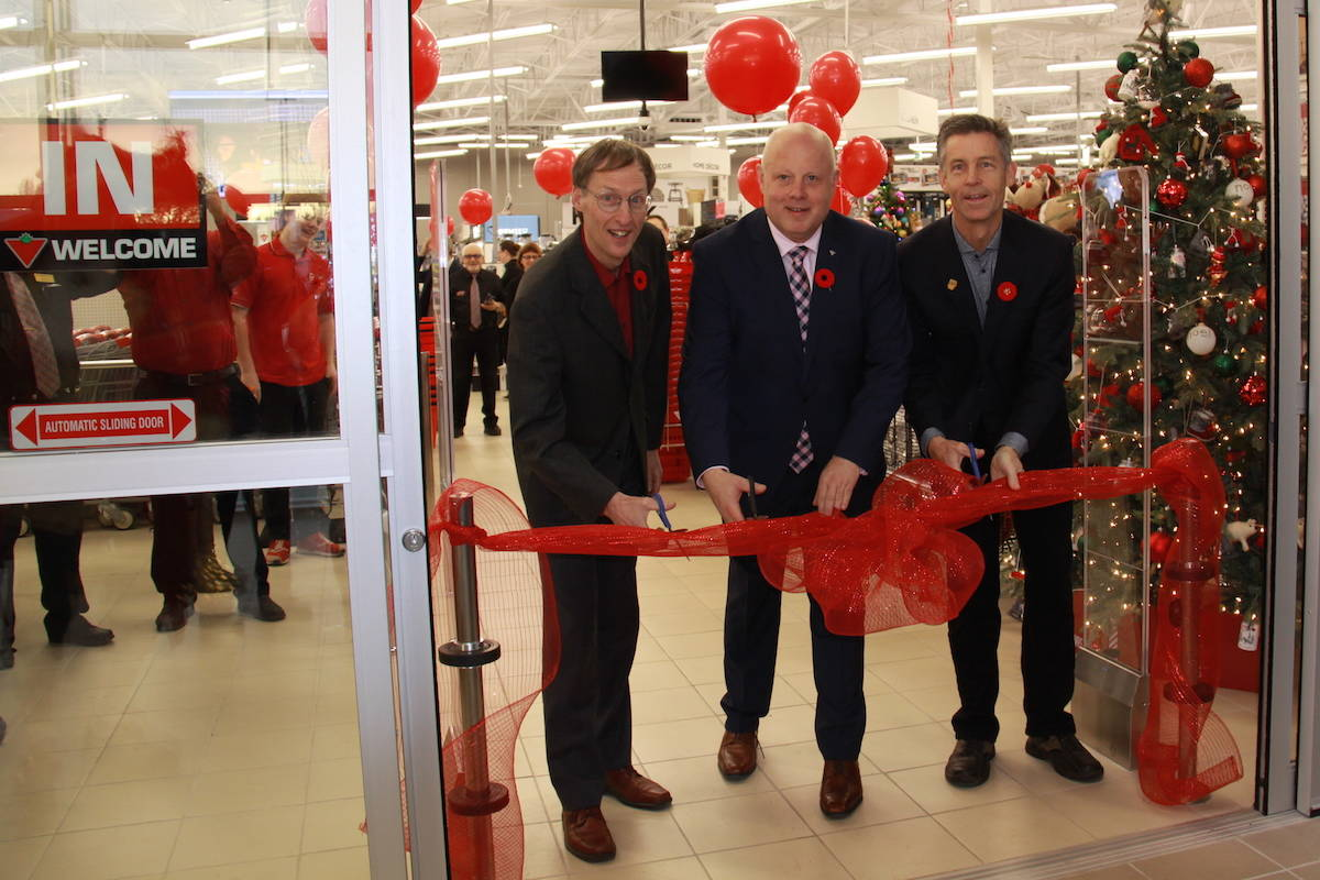 New Canadian Tire Store Rolls Out In North Saanich With Grand