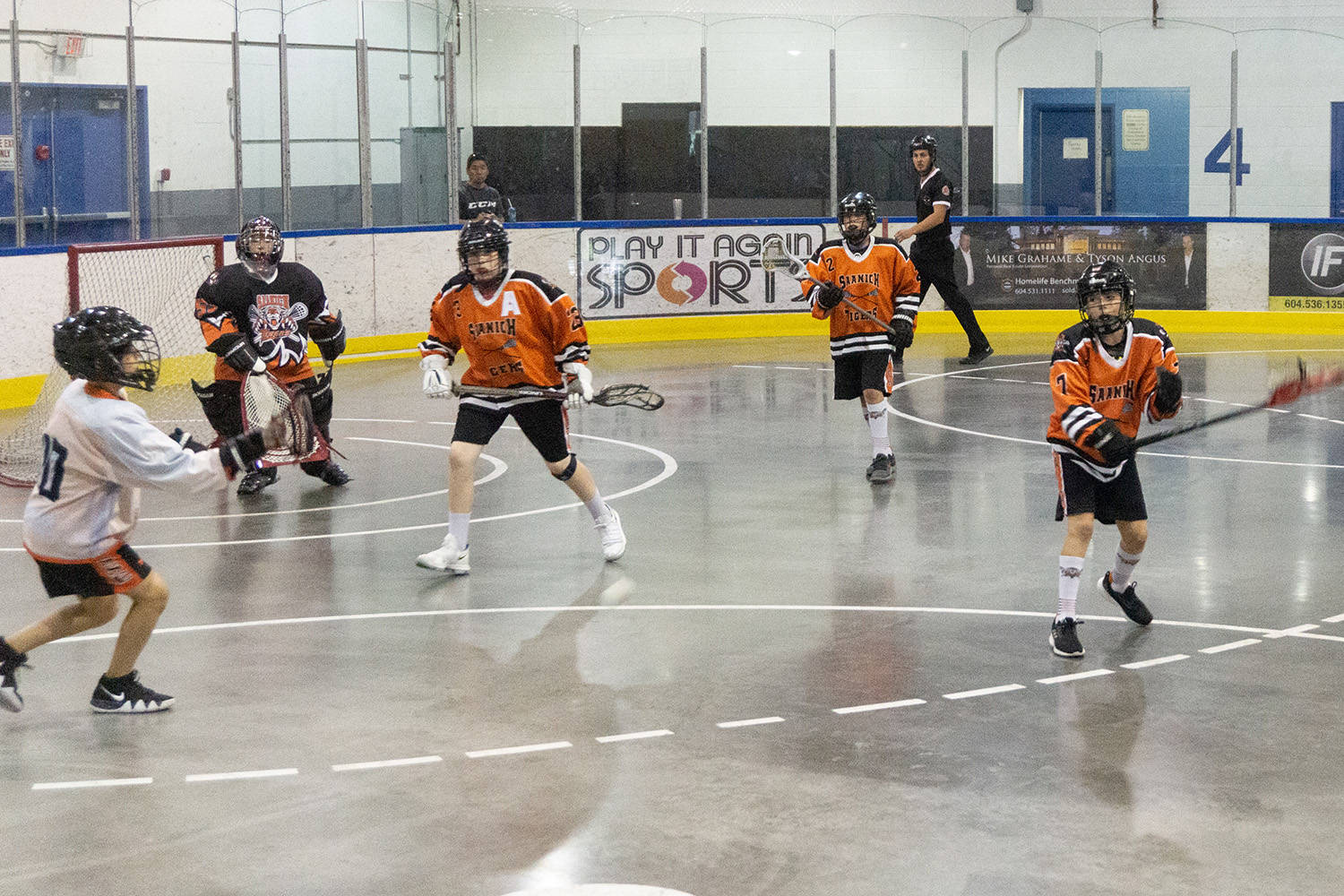 Saanich Tigers host open-house lacrosse sessions – Peninsula