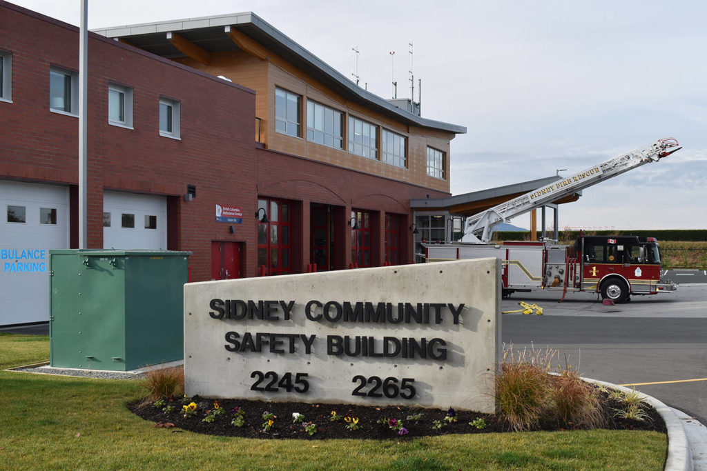 Final cost for Sidney's Community Safety Building still 'trickling in' - Peninsula News Review